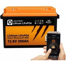 LIONTRON LiFePO4 12.8V 200Ah LX Smart BMS met Bluetooth