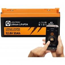 LIONTRON LiFePO4 12.8V 55Ah LX Smart BMS met Bluetooth
