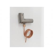 Haakse bocht 24mm met afvoer voor condenswater