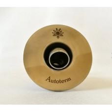 Huiddoorvoer Autoterm met bocht  24 mm, RVS