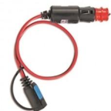 12V cigarette lighter plug with fuse