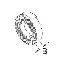 Isolatieband. Breedte 60 mm