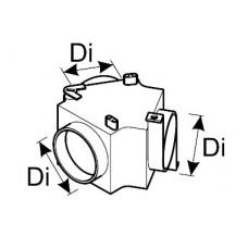 Luchtverdeler met regelklep 60mm Webasto