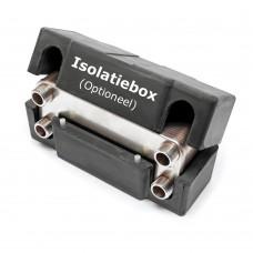 Isolatiebox t.b.v. Warmtewisselaar RVS 10 platen 22 kW